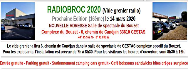 [Annulé] Radiobroc 2020 (16ème édition) à Cestas en Gironde (33) (14 Mars 2020) Radiob10