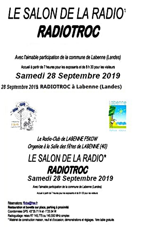 RADIOTROC « Le Salon de la Radio »  F5KOW à Labenne (40) (28/09/2019) Radiot10