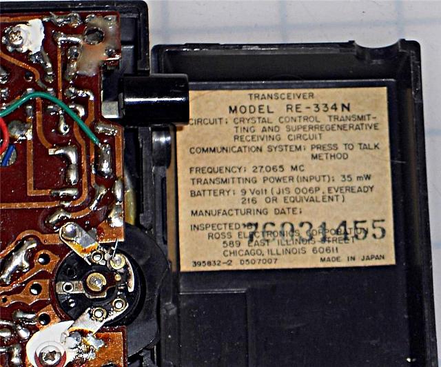 Ross RE-334N (Portable) Ross_r11