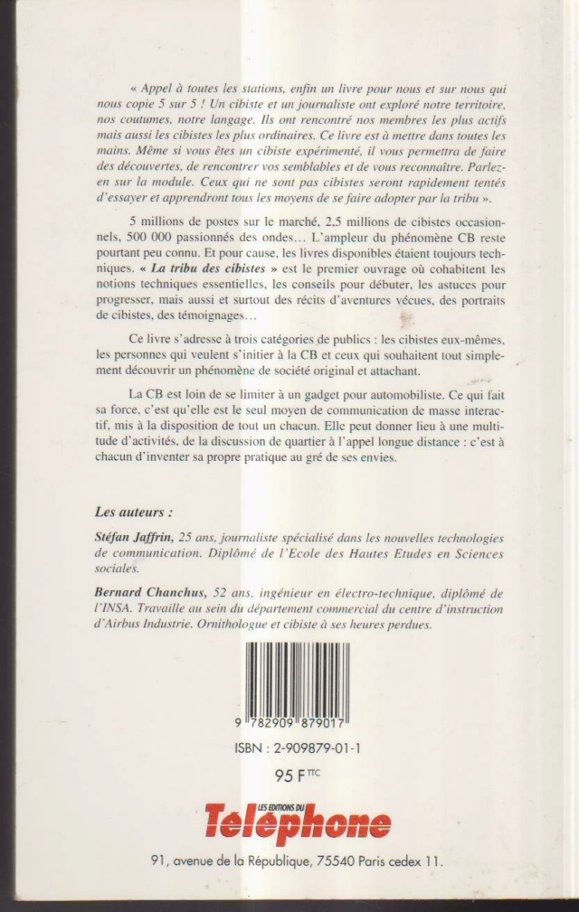 La tribu des cibistes (Livre (Fr) S-l16076