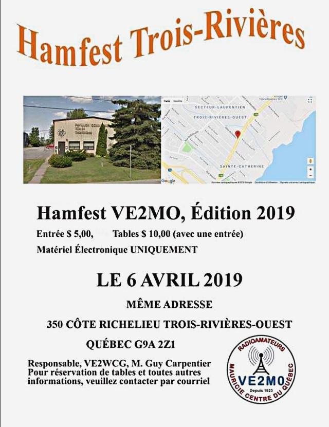 Hamfest Trois-Rivieres Radioamateurs Mauricie Centre du Québec (Trois-Rivièrs) (06/04/2019) S9204710