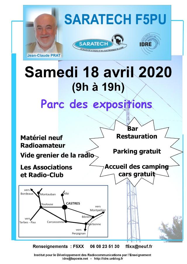 [Annulé] Salon Saratech F5PU à Castres (dpt 81) (18 Avril 2020) Sarate10