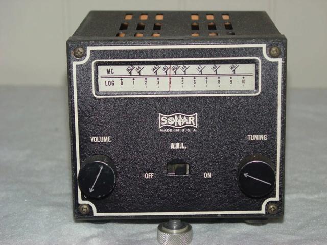 Sonar Model SR-9 Sonar-18