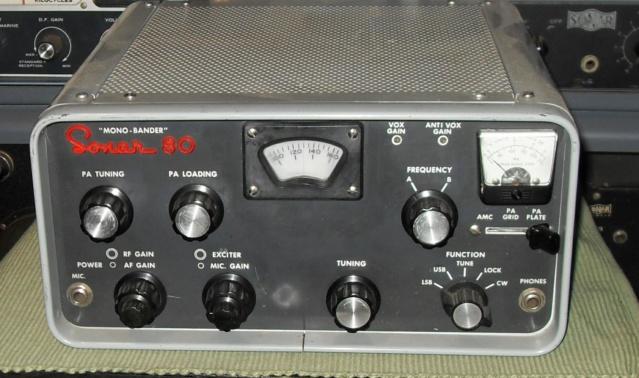 """Sonar 80 """"Mono-Bander"""" Sonar-27"""