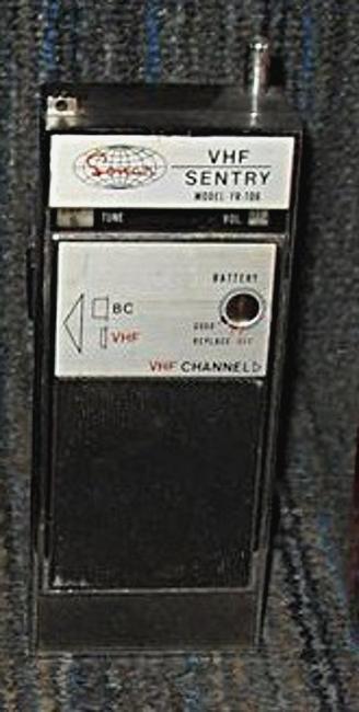 Sonar VHF Sentry FR-106 Sonar-31