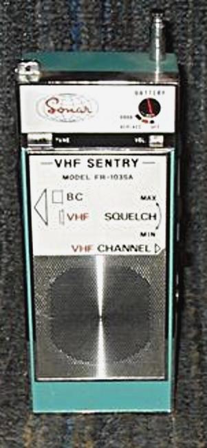 Tag vhf sur La Planète Cibi Francophone Sonar-32