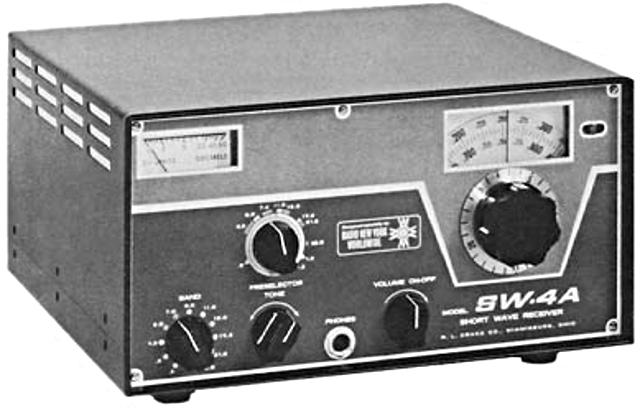 Drake SW4A receiver Sw4a10