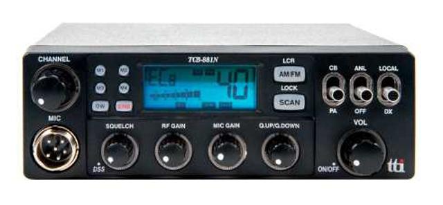 tti TCB-881N (Mobile/Camion) Tcb88110