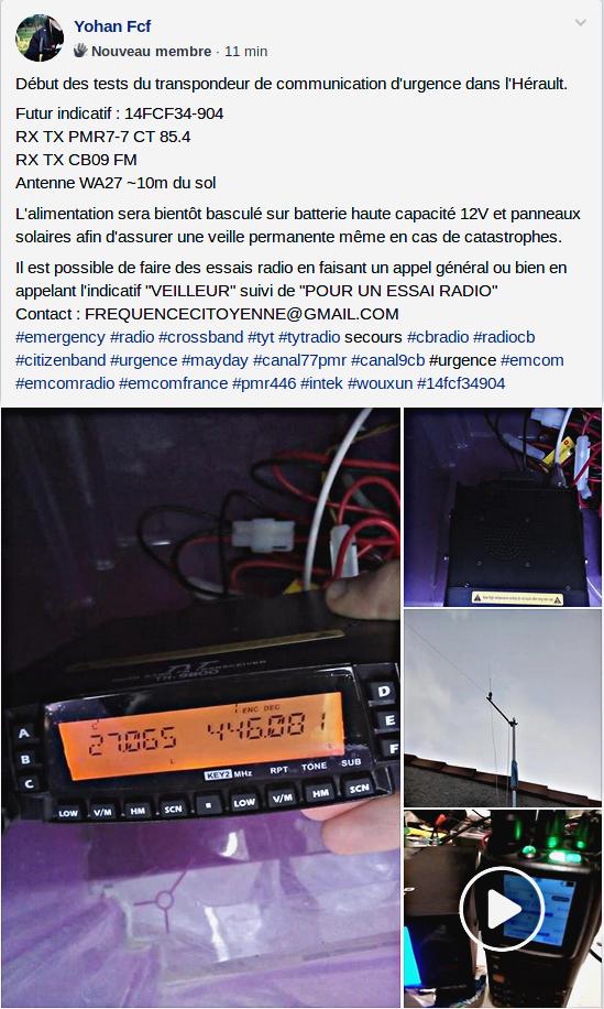Tag secours sur La Planète Cibi Francophone Test_t10