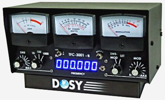 Dosy TFC-3001-S (Tosmètre/Wattmètre/Fréquencemètre) Tfc30010