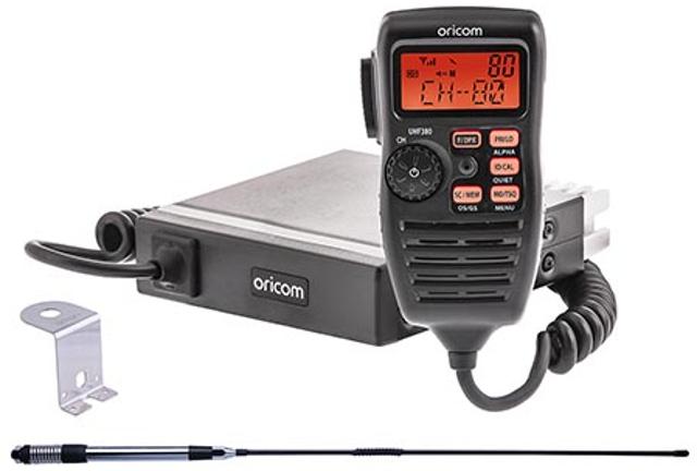 Oricom UHF380PK (Cibi Mobile UHF) Uhf38010