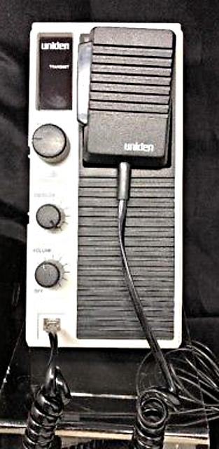 Uniden BP-10 (Mobile) Vintag10