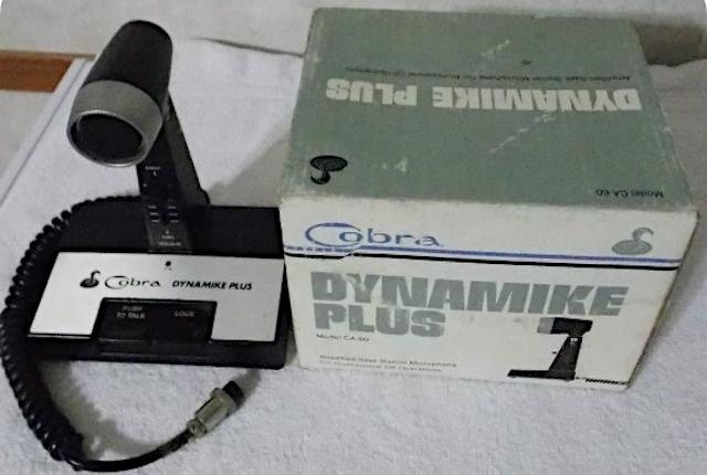 Cobra Dynamike Plus CA-60 (Micro de table) Vintag34