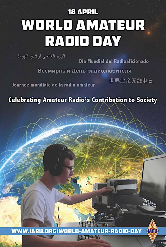 amateur - World Amateur Radio Day 2021 (18/04/2021) Ward11
