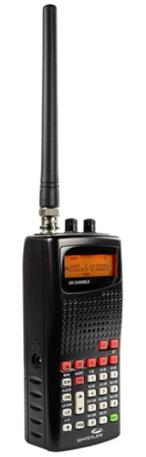 Whistler WS1010 (scanner (Portable) Whistl13