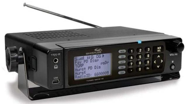 Whistler TRX-2 (scanner (Mobile) Whistl21