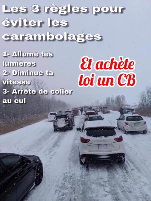 La Cibi pour partager les infos plus rapidement sur la route sans intermédiaire... Z_167912