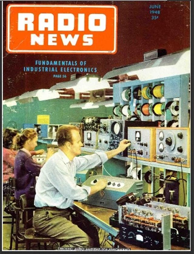 Radio News / Radio Amateur News / Radio & Television News (Magazine (USA) Z_350510
