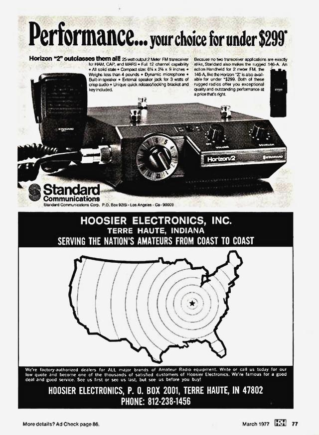 Standard Communications Horison 2 Z_420210