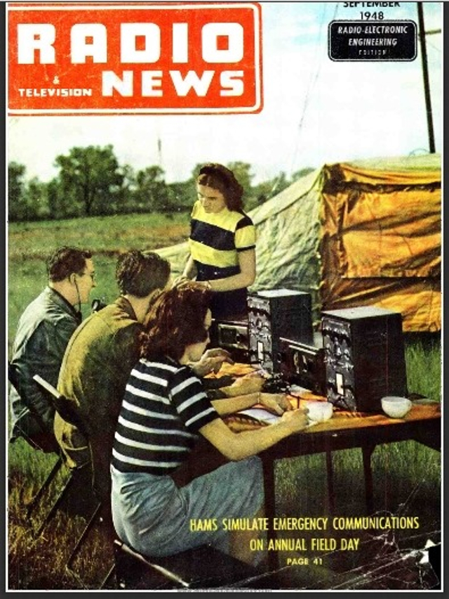 Radio News / Radio Amateur News / Radio & Television News (Magazine (USA) Z_535810