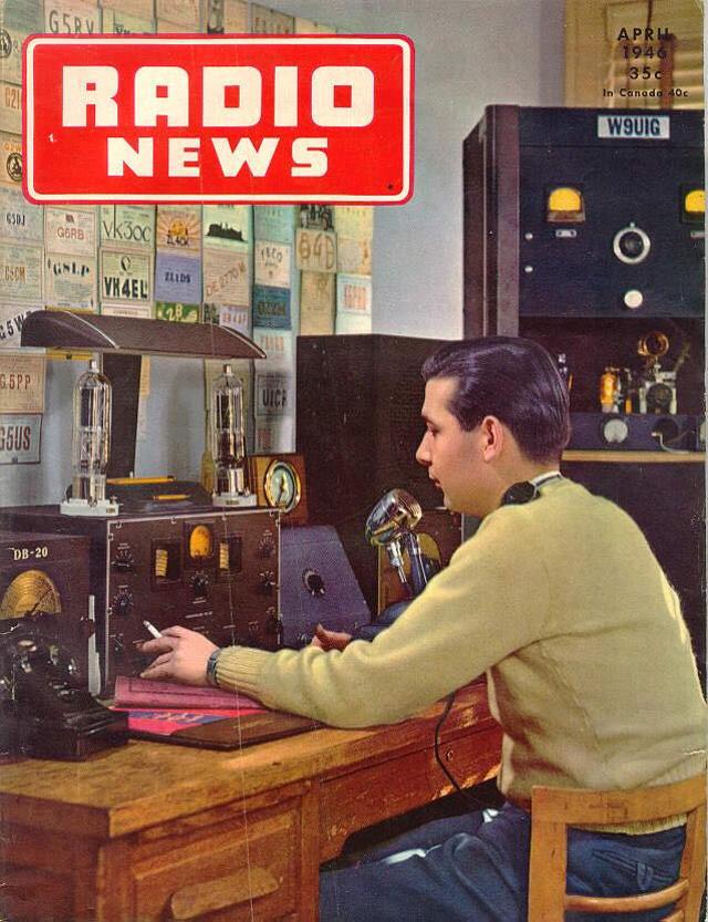Radio News / Radio Amateur News / Radio & Television News (Magazine (USA) Z_599410