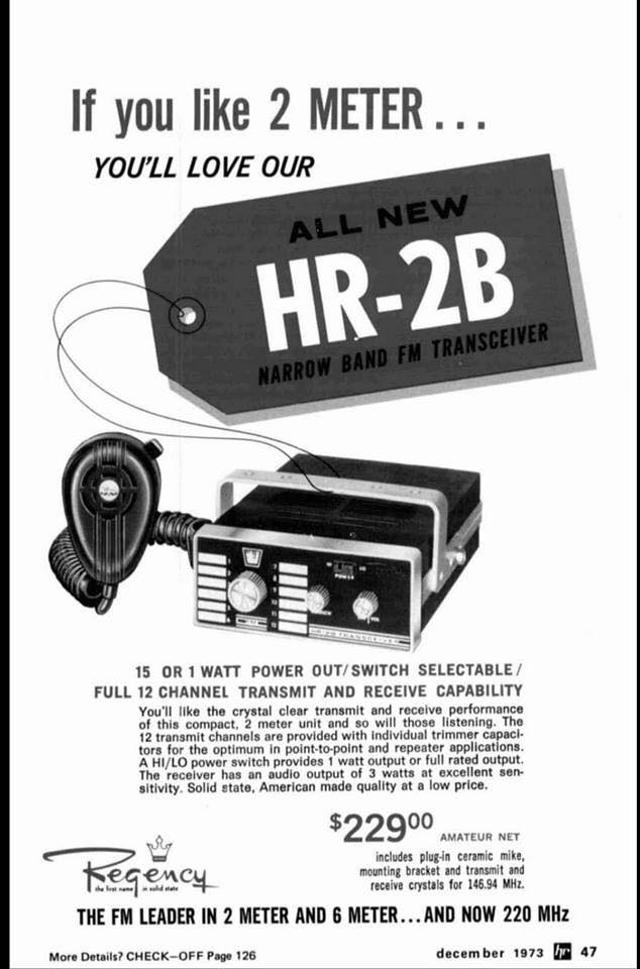 Regency HR-2B Z_657010