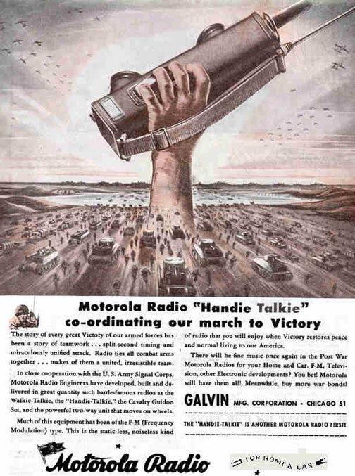 """Motorola """"Handie Talkie"""" Z_707310"""