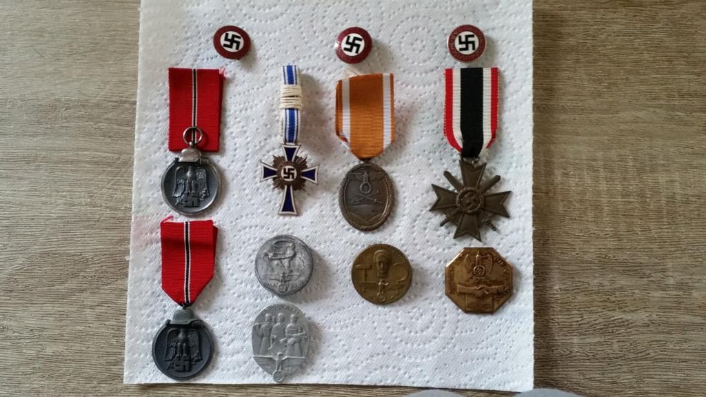 Médailles Allemandes , Insignes Allemands , Boucle HJ , Brassard SA  00212