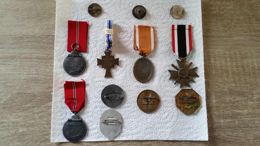Médailles Allemandes , Insignes Allemands , Boucle HJ , Brassard SA  00310