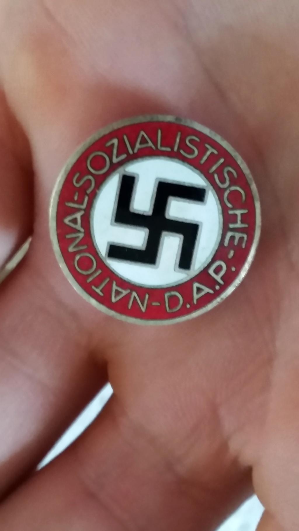 Médailles Allemandes , Insignes Allemands , Boucle HJ , Brassard SA  00910