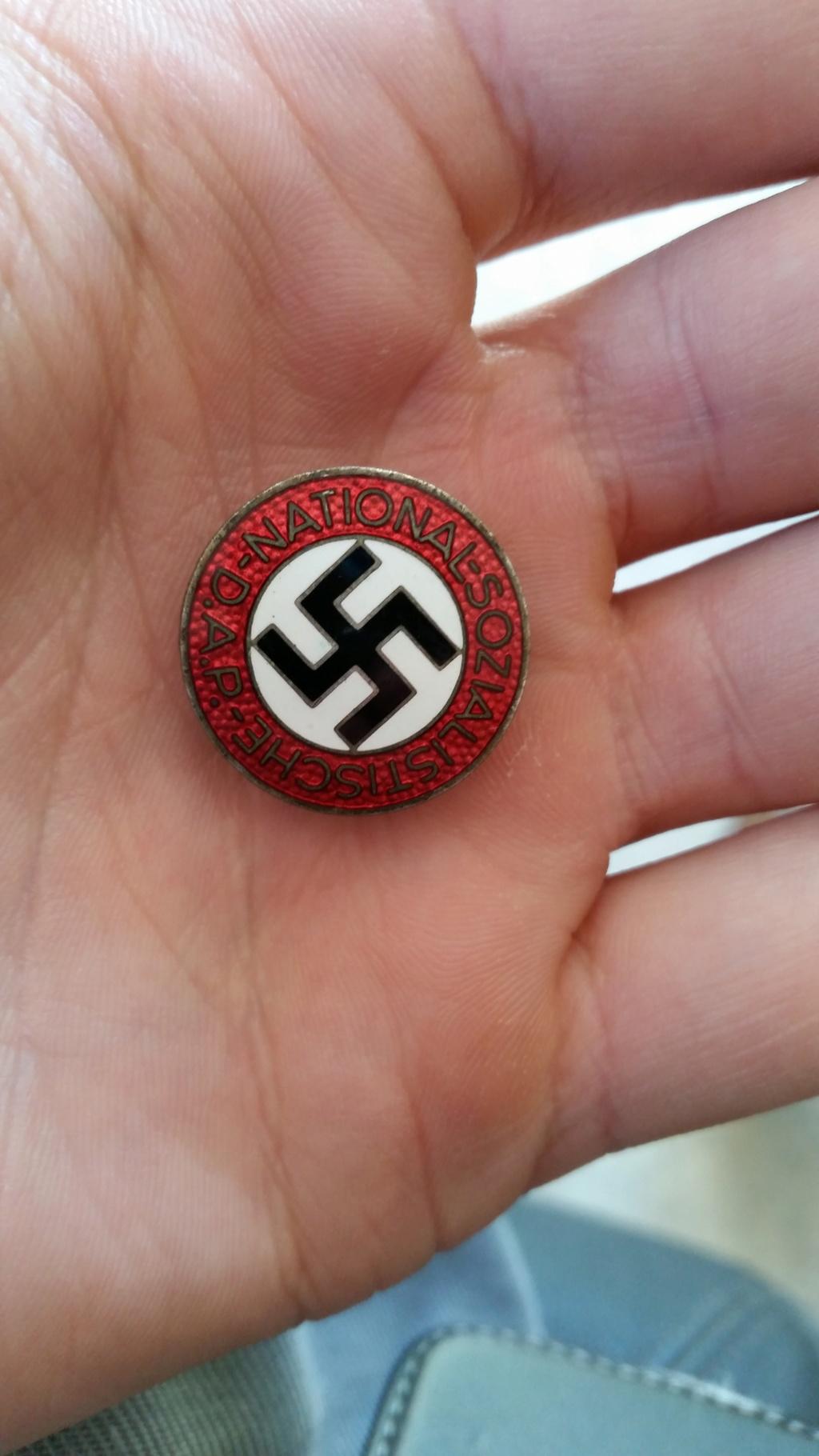 Badge NSDAP 01110