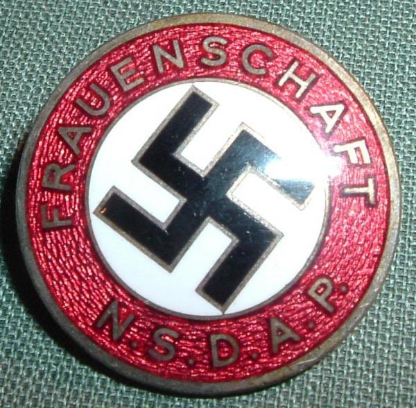 Badge NSDAP FRAUENSCHAFT Rare ? 42868011