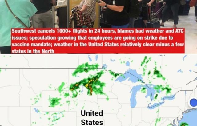 """Odlične vijesti iz USA - sustav se raspada radi """"antivaxera""""(kriv je trump ili sunčano vrijeme) Avioni12"""