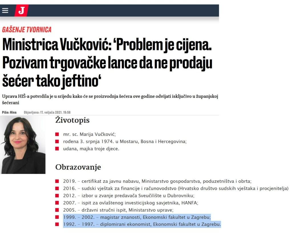 kako preko veze , završiti ekonomski faks, magistrirati, predavati na faksu, dobijati državne pozicije i postati ministar Bosna11