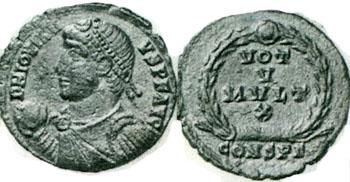 Un buste rarement vu de Jovien. Numzor11