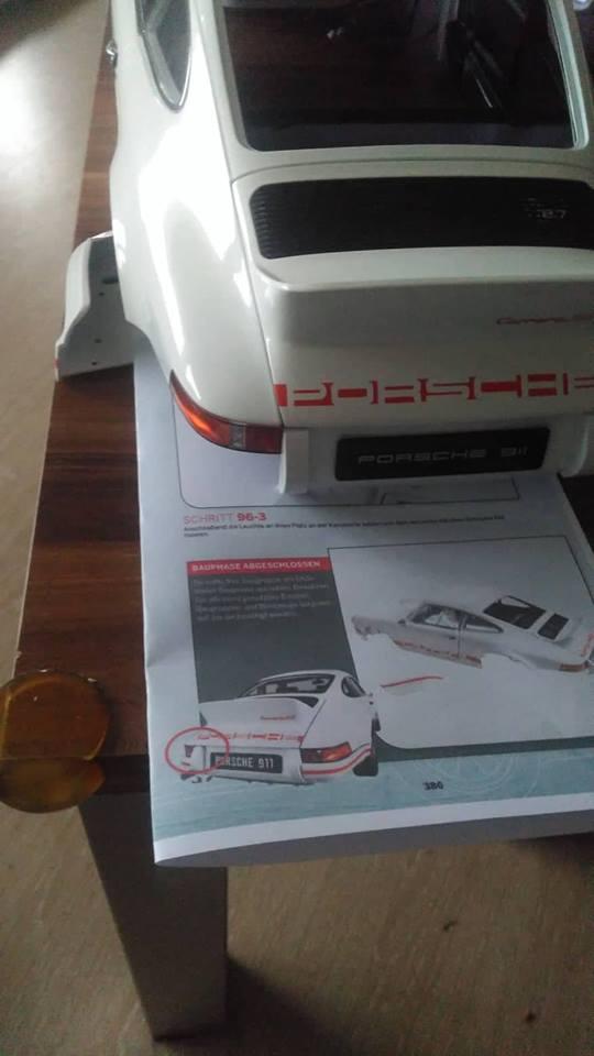 DeAgostini Porsche 911 Carrera RS 2.7 - Seite 8 0716