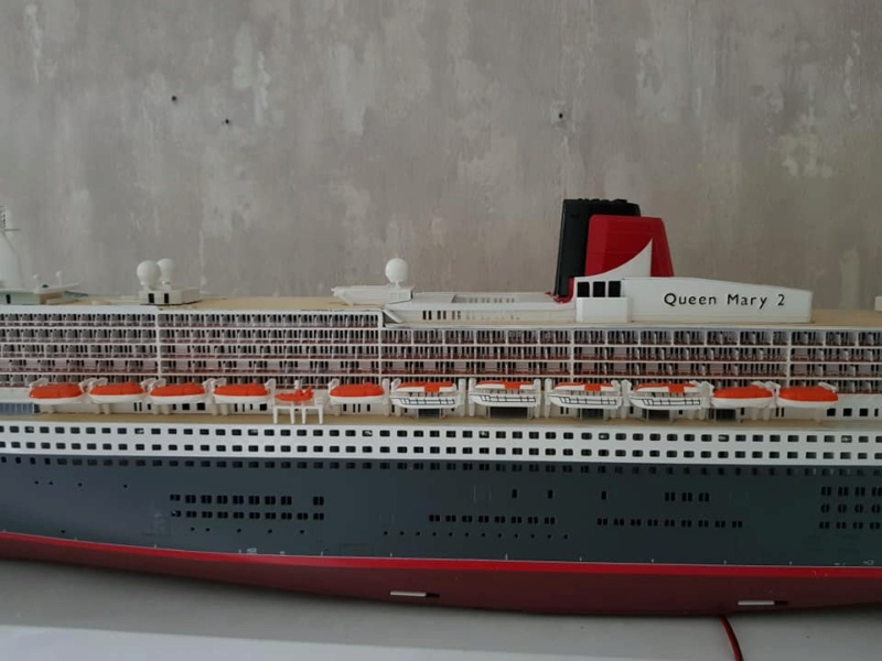 Queen Mary 2 mit LED-Beleuchtung / Revell, 1:400 - Seite 4 11895710