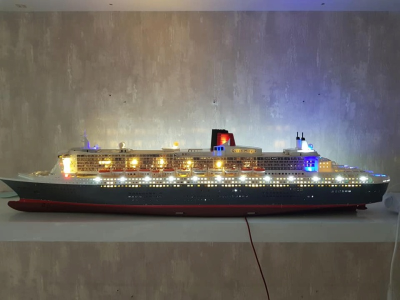 Queen Mary 2 mit LED-Beleuchtung / Revell, 1:400 - Seite 4 11898810