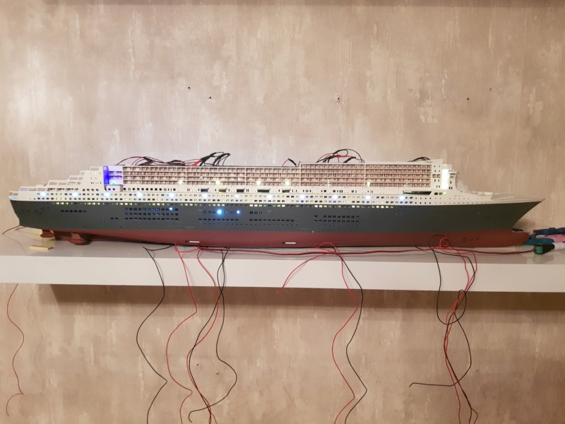 Queen Mary 2 mit LED-Beleuchtung / Revell, 1:400 - Seite 4 20200107