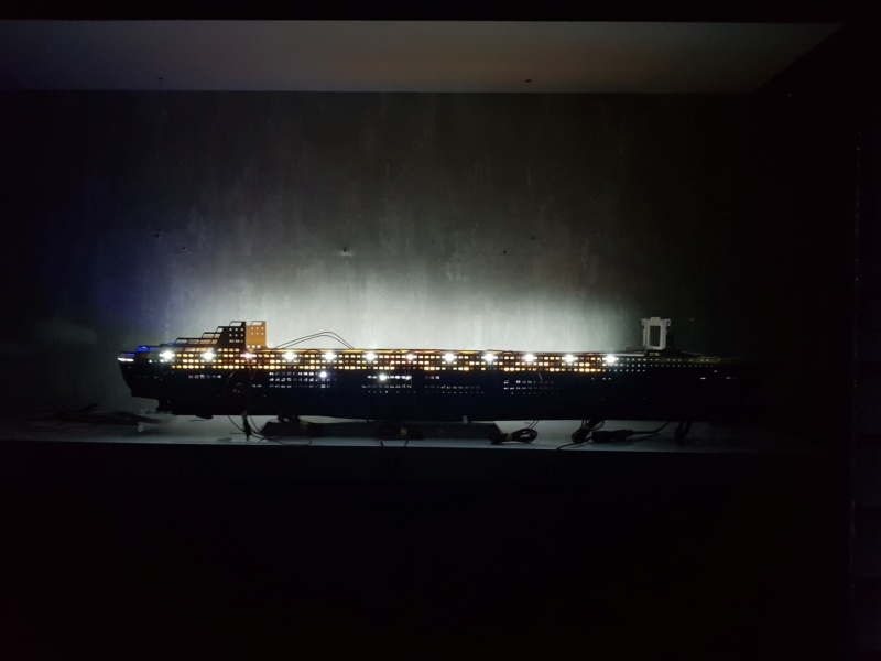 Queen Mary 2 mit LED-Beleuchtung / Revell, 1:400 - Seite 3 20200790