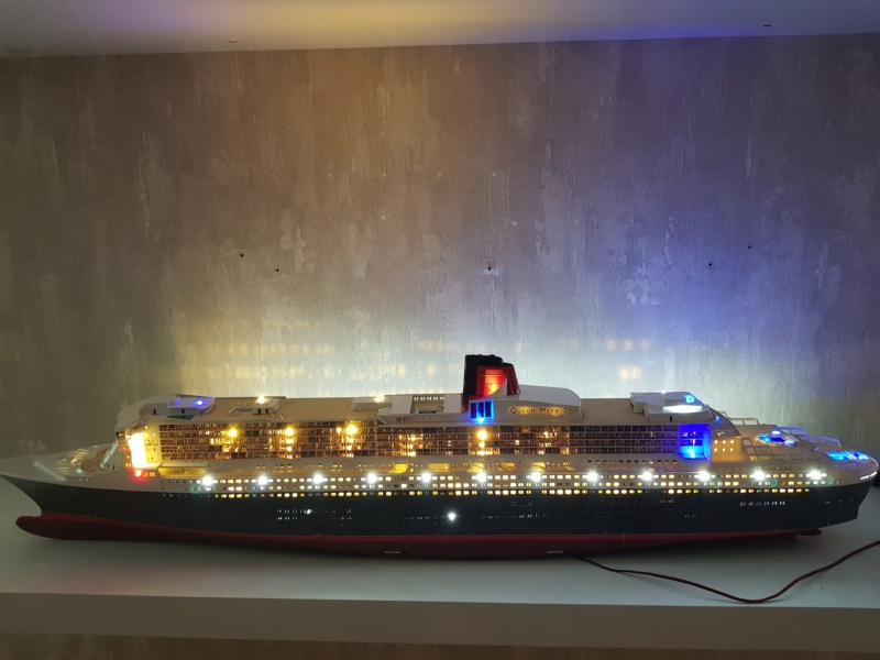 Queen Mary 2 mit LED-Beleuchtung / Revell, 1:400 - Seite 4 20200821