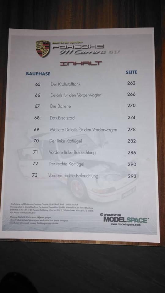 DeAgostini Porsche 911 Carrera RS 2.7 - Seite 6 43378210
