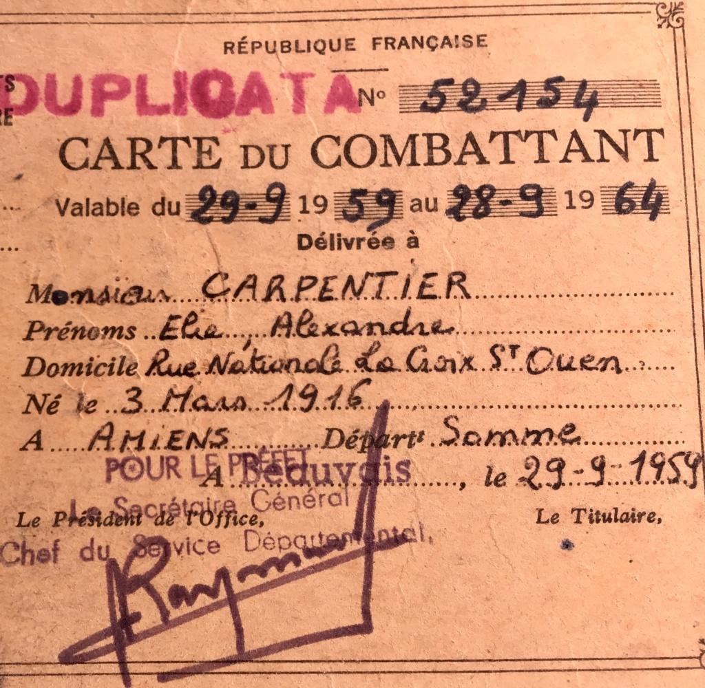 A identifier militaire portant n° 51 822c8710