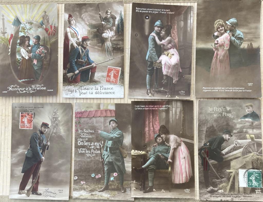 Cartes postales patriotiques françaises de la Grande Guerre - recensement - Page 2 Img_e112