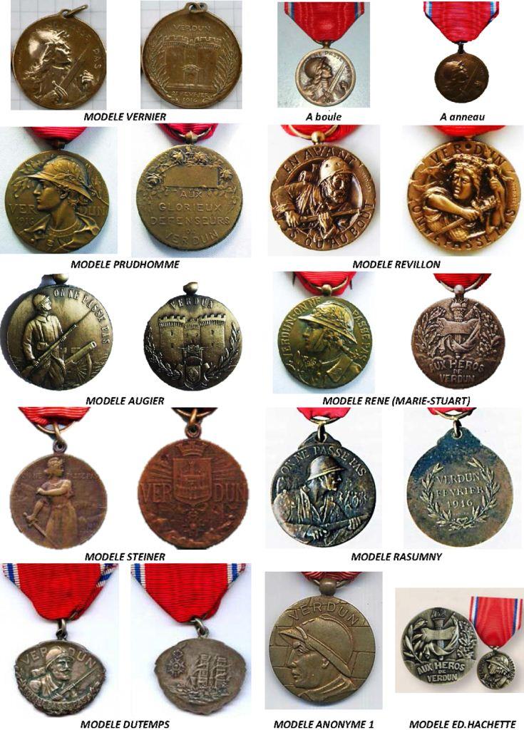 Médaille Verdun en argent Sf031610