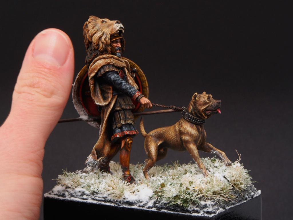 Vétéran carthaginois traversant les Alpes (54 mm) 411