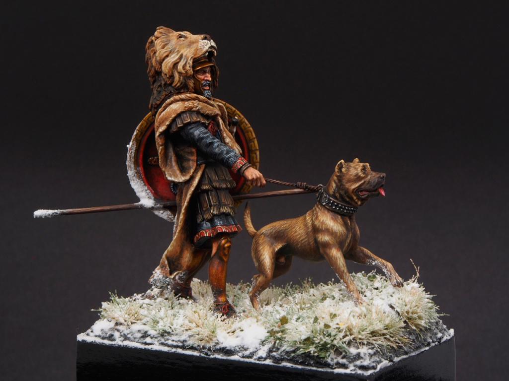 Vétéran carthaginois traversant les Alpes (54 mm) 510
