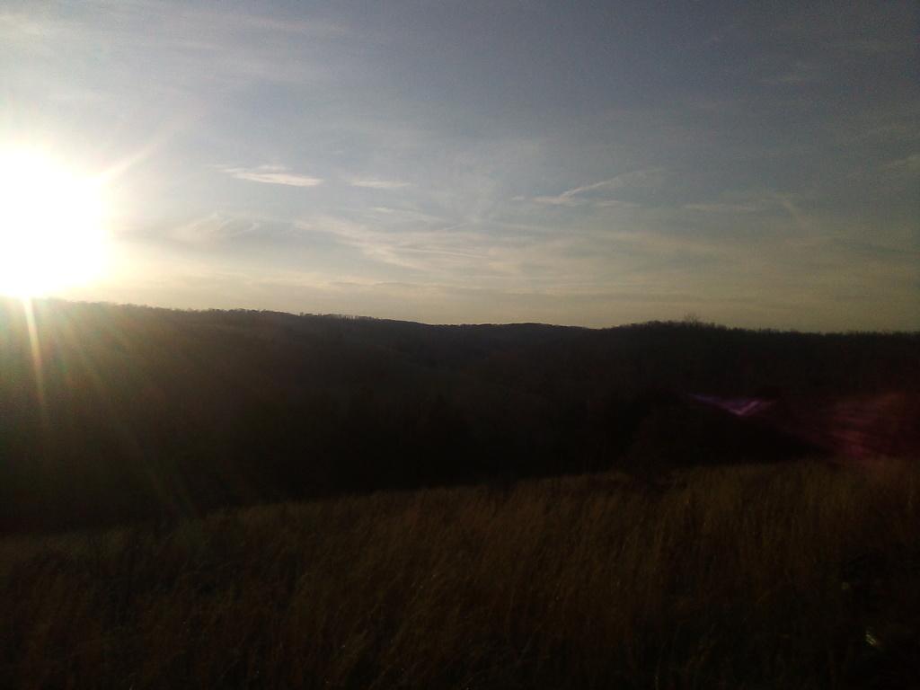 Sunset on the mountain Img_2014