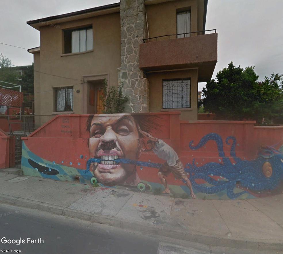STREET VIEW : les fresques murales - MONDE (hors France) - Page 26 Graffi10