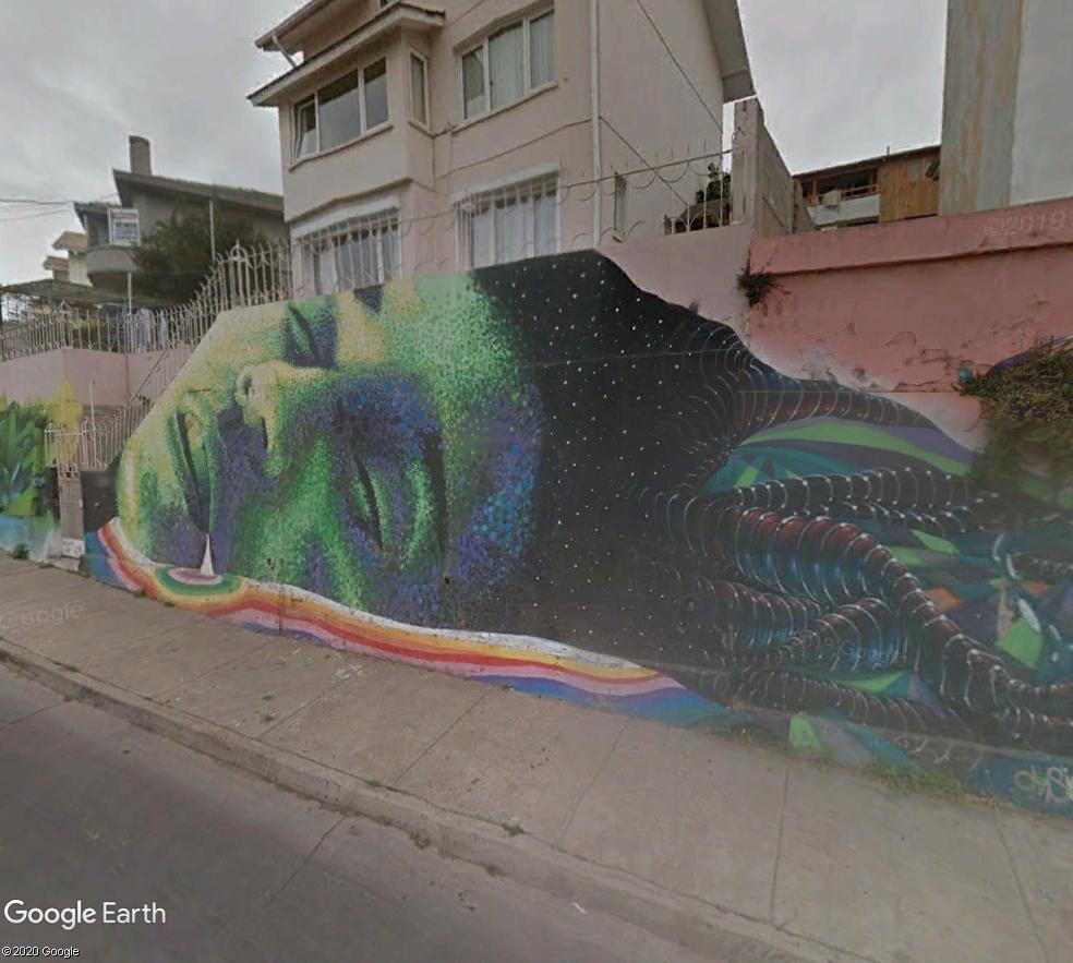 STREET VIEW : les fresques murales - MONDE (hors France) - Page 26 Visage10
